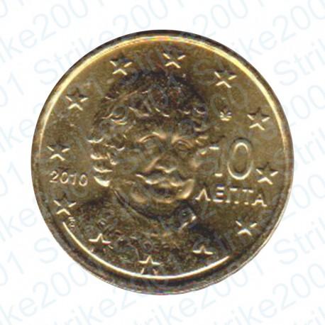 Grecia 2010 - 10 Cent. FDC