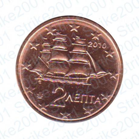 Grecia 2010 - 2 Cent. FDC