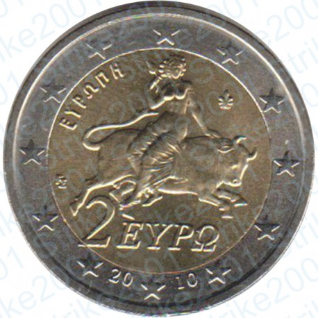 Grecia 2010 - 2€ FDC