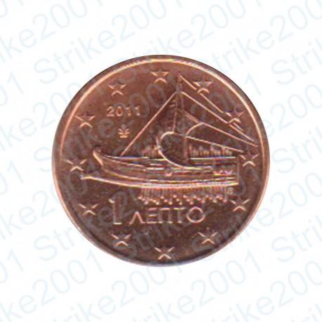 Grecia 2011 - 1 Cent. FDC