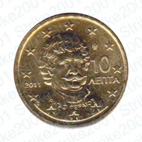 Grecia 2011 - 10 Cent. FDC