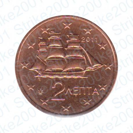 Grecia 2011 - 2 Cent. FDC