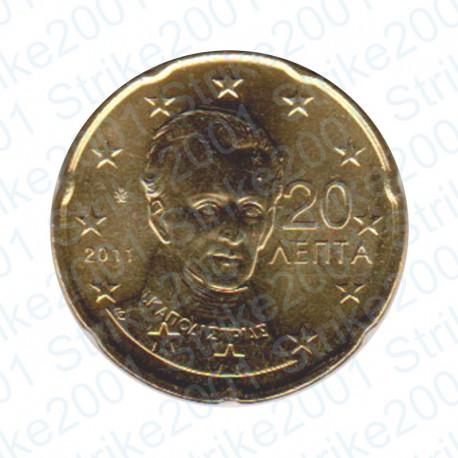 Grecia 2011 - 20 Cent. FDC