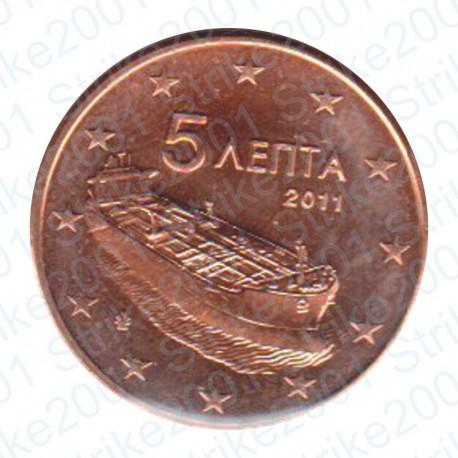 Grecia 2011 - 5 Cent. FDC