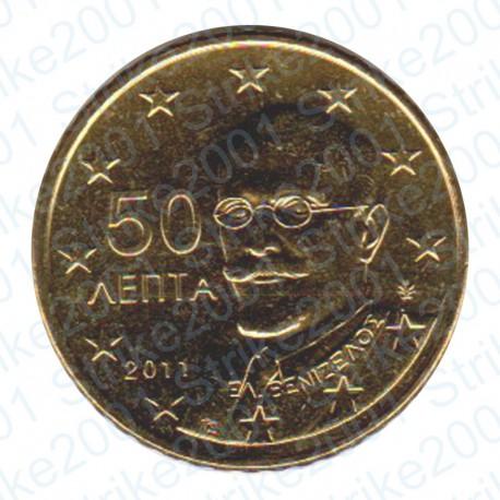 Grecia 2011 - 50 Cent. FDC