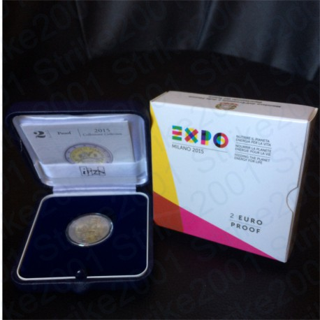 Italia - 2€ Comm. 2015 FS EXPO