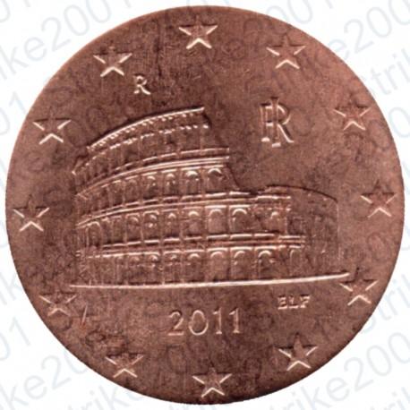 Italia 2011 - 5 Cent. FDC