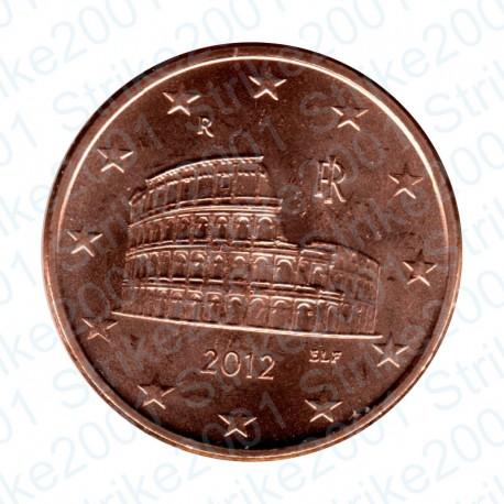 Italia 2012 - 5 Cent. FDC