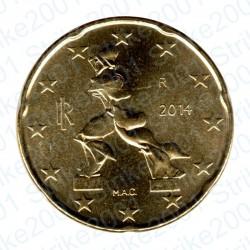 Italia 2014 - 20 Cent. FDC