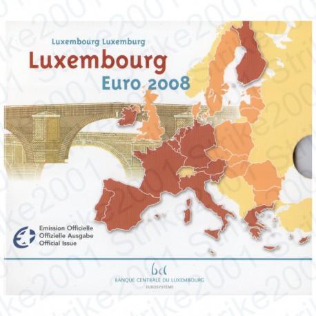 Lussemburgo - Divisionale Ufficiale 2008 FDC