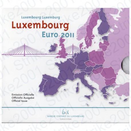 Lussemburgo - Divisionale Ufficiale 2011 FDC
