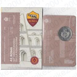 San Marino - 10€ 2017 FDC 90° Ann. A.S. Roma