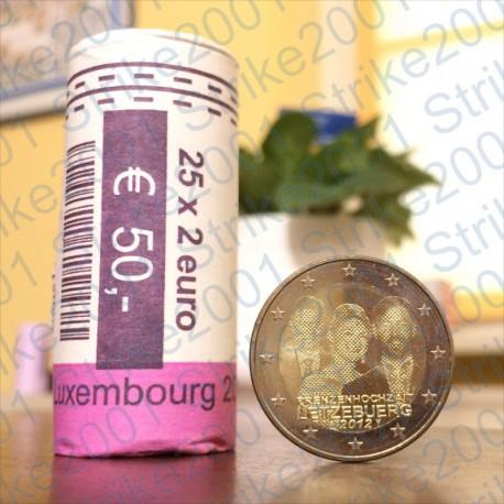 Lussemburgo - 2€ Comm. 2012 FDC Matrimonio