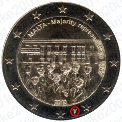 Malta - 2€ Comm. 2012 FDC Zecca Olanda