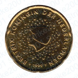 Olanda 1999 - 20 Cent. FDC