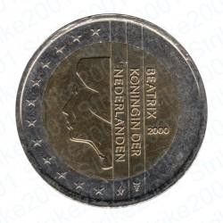 Olanda 2000 - 2€ FDC