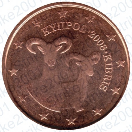 Cipro 2008 - 2 Cent. FDC