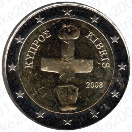 Cipro 2008 - 2€ FDC