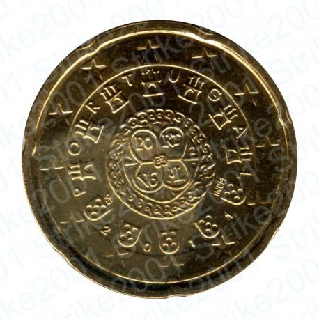 Portogallo 2011 - 20 Cent. FDC