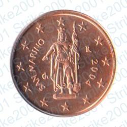 San Marino 2004 - 2 Cent. FDC