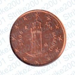 San Marino 2006 - 1 Cent. FDC