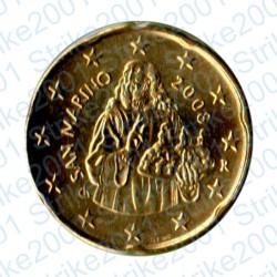 San Marino 2008 - 20 Cent. FDC