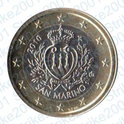 San Marino 2010 - 1€ FDC