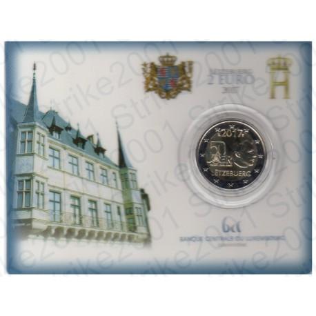 Lussemburgo - 2€ Comm. 2017 FDC Servizio Militare in Folder