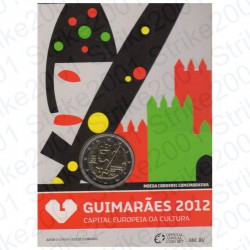 Portogallo - 2€ Comm. 2012 FDC Guimaraes in Folder