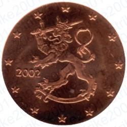 Finlandia 2002 - 1 Cent. FDC