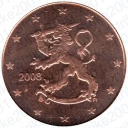 Finlandia 2008 - 5 Cent. FDC