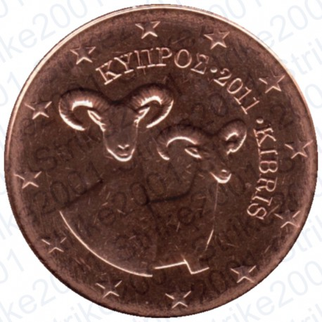 Cipro 2011 - 2 Cent. FDC