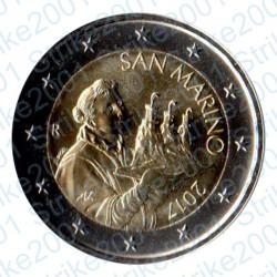 San Marino 2017 - 2€ FDC