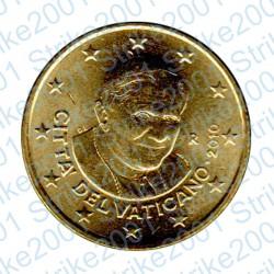 Vaticano 2010 - 50 Cent. FDC