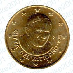 Vaticano 2011 - 50 Cent. FDC