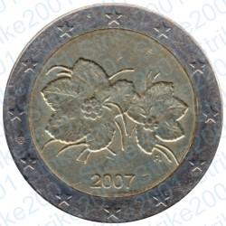 Finlandia 2007 - 2€ FDC