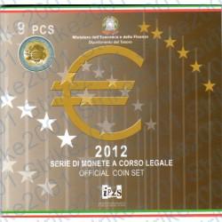 Italia - Divisionale Ufficiale 2012 FDC 9 Valori