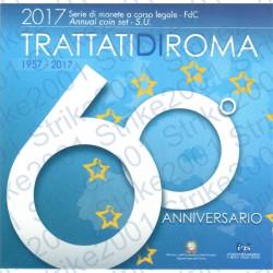 Italia - Divisionale Ufficiale 2017 FDC 10 Valori