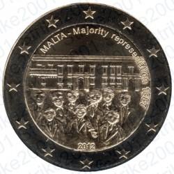 Malta - 2€ Comm. 2012 FDC Maggioranza Rappresentativa