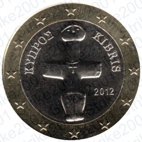 Cipro 2012 - 1€ FDC