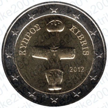 Cipro 2012 - 2€ FDC