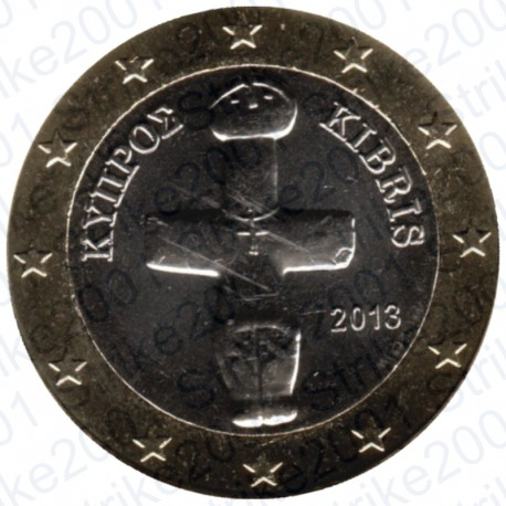 Cipro 2013 - 1€ FDC