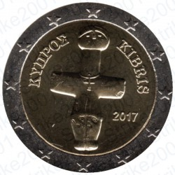 Cipro 2017 - 2€ FDC