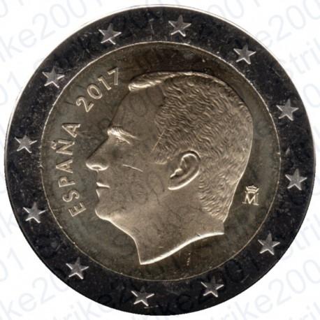Spagna 2017 - 2€ FDC