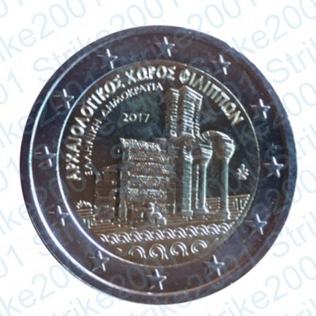 Grecia - 2€ Comm. 2017 FDC Filippi