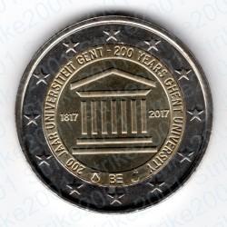 Belgio - 2€ Comm. 2017 FDC Università Gand
