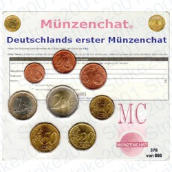 Germania - Serie Munzenchat 2002 FDC