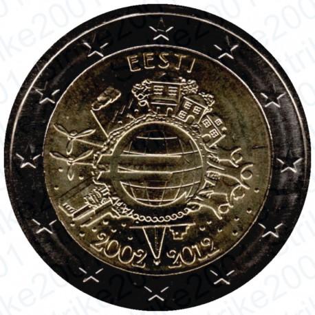 Estonia - 2€ Comm. 2012 10° Anniversario FDC