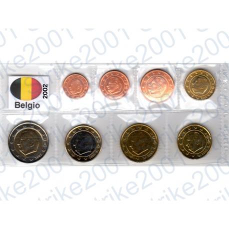 Belgio - Blister 2002 FDC