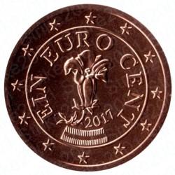 Austria 2017 - 1 Cent. FDC